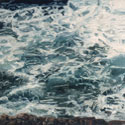Painting of rough water. (thumb)